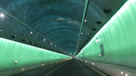 """贵州六盘水 美呆!最美网红隧道开通 高速现""""海底隧道""""奇观"""