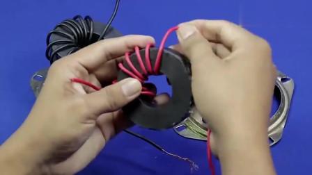发明火了!牛人在家里用磁体制作直流电机,自