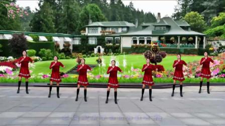 抠像-新兴快乐广场舞《一晃就老了》