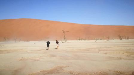 纳米比亚沙漠拍摄