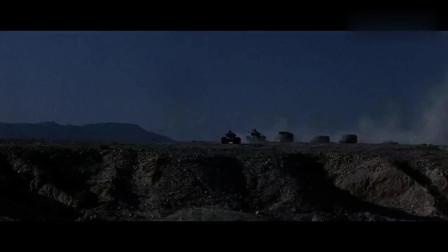 二战劲爆片《浴血狂沙》,沙漠打伏击,迫击炮远程轰炸,三军混战
