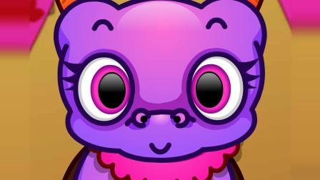 恐龙动画片 恐龙虫的袭击 上 儿童科学探索系列