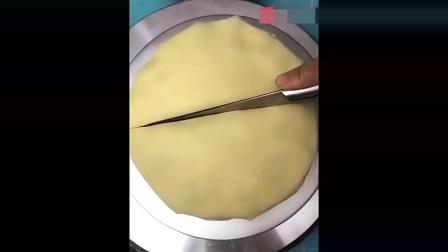 美食制作;原味奶油千层制作方法简单,喜欢的赶紧来看看