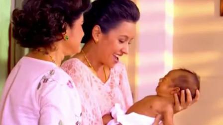 花环夫人拉媪生了,她给特博生了第一个儿子!