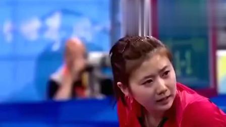 中国的乒乓球有多牛逼, 教练场外着急大喊你们让这点