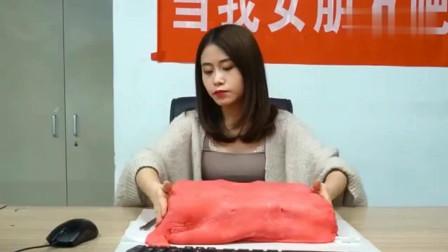 """办公室小野:美女自制""""红包蛋糕""""真是厉害了小野,我学到了!"""