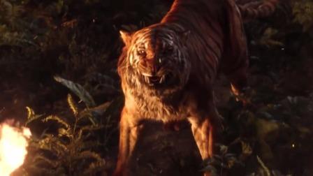 小男孩被大老虎追杀,靠着勇敢与智慧,最终把老虎秀死了!