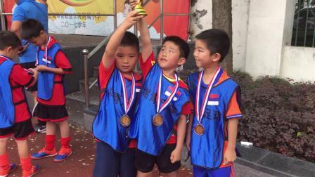 【7岁】6-20哈哈参加小小足球世界杯颁奖典礼发奖杯奖牌IMG_0429
