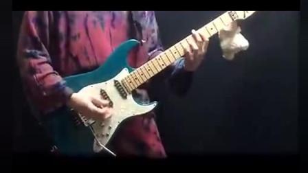 牛人电吉他超强弹奏《灌篮高手》主题曲,音乐