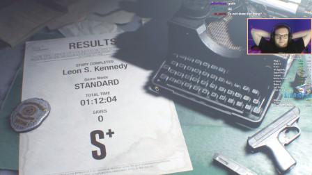 生化危机2 重制版 里昂 表关 TA 1小时12分4秒 芸梦馆