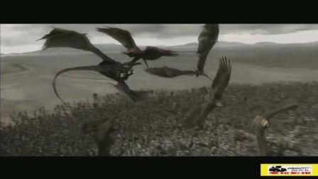 《指环王3》为了佛罗多!黑门终极之战!巨鹰都来助战了