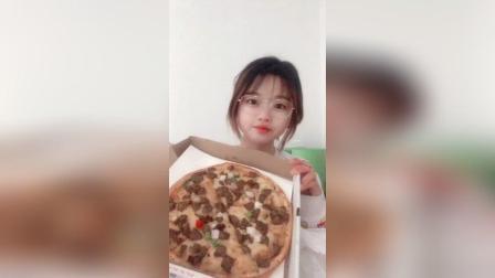 BBQ牛肉披萨十寸! 一人食披萨