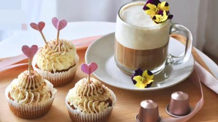 「烘焙教程」提拉米苏杯子蛋糕,可做摆拍小甜点哦
