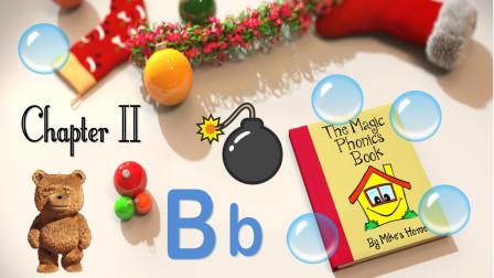 自然拼读 魔法拼读书 第2章 Bb  The Magic Phonics Book - Chapter 2- Bb -