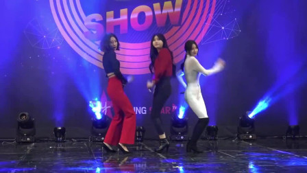 韩国美女天团,3位高颜值的小姐姐,中间那位最