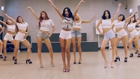 韩国美女天团,10位身材曼妙的小姐姐,跳出最撩