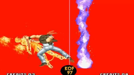 拳皇97:拉尔夫宇宙幻影不成功就成仁,不是秒人就是被秒