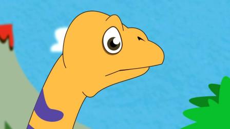 Pukyongosaurus 釜庆龙长长的脖子大大的脚