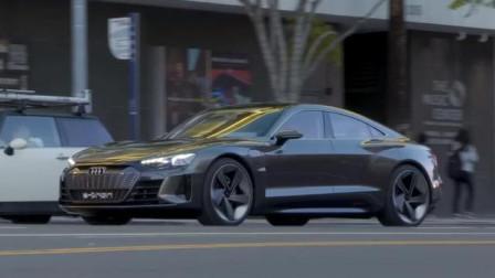 奥迪的电动概念车,比特斯拉还拉风,颜值爆表!