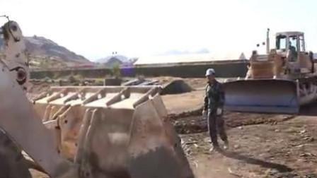 中国第15批赴苏丹达尔富尔维和工兵分队组织营区综合防卫演练