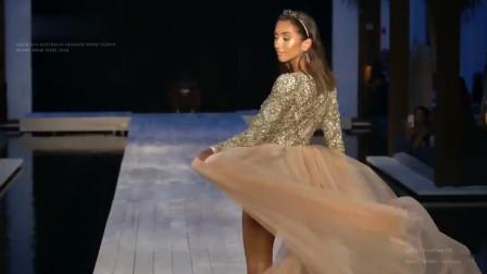 Aqua Blu泳装走秀2019迈阿密时装周,火辣超模尽显洒脱之美!