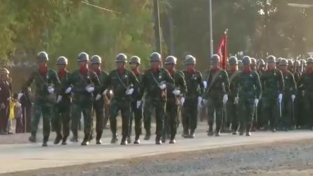 泰国举行2019年盛大阅兵仪式