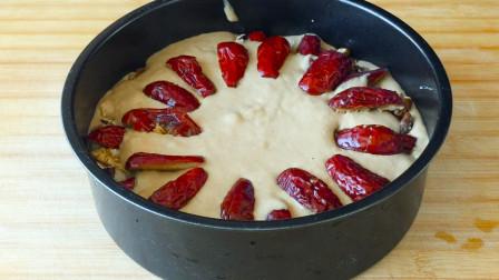 红糖发糕最好吃的做法,松软香甜入口即散,回味无穷,太香了