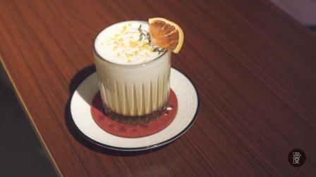 加橙皮的咖啡你喝过吗,小姐姐自创北海道咖啡,甜到你心坎