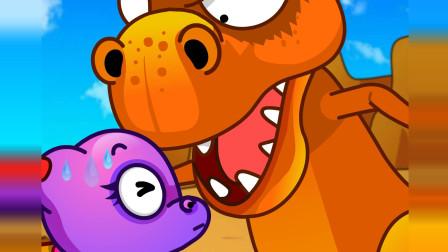 恐龙动画片 种下白果的种子 上 儿童科学探索系