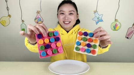 """小姐姐吃""""象棋巧克力"""",DIY手工创意甜点,健康又美味好喜欢"""