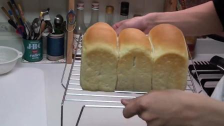 你知道枕头面包是怎么做的吗?学会以后,再也不用担心早餐吃什么了