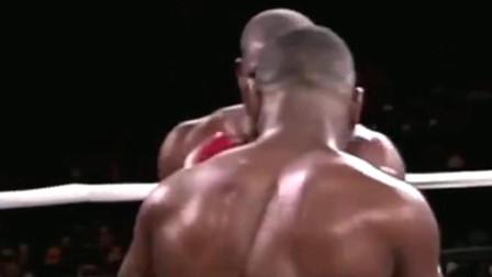 拳击比赛 泰森颠峰时期的拳击赛 感受一下野兽般的力度和速度 致敬传奇