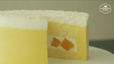芒果椰蓉慕斯蛋糕  享受果肉和蛋糕交相辉映的美妙