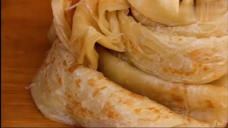 烙饼怎么做柔软又筋道,秘诀都在这里,做法超简单,好做又好吃
