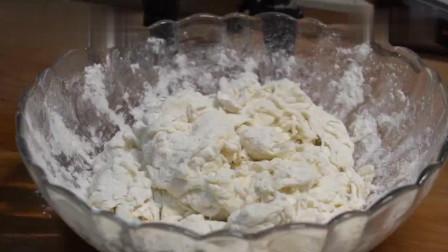 鸡蛋灌饼最正宗的做法,教你这个诀窍,保证个个起大泡,简单易学!