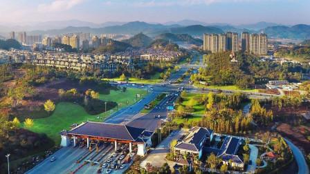 地图里看城市化,杭州市临安区城市化进程
