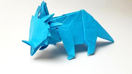 折纸王子川畑文昭戟龙5,详细视频教程