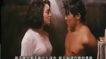新精武门2:周星驰电影,周星驰张敏浴室湿身戏