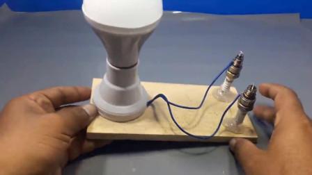 难以置信!看牛人如何使用磁铁无线点亮小灯泡