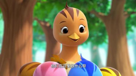 《萌鸡小队2》萌鸡们真勇敢,不害怕河水