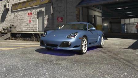 [琴爷]最强ENB画质GTA5MOD: 保时捷Cayman R!
