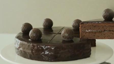 国外著名酒店独特奥地利萨赫蛋糕制作,大师手艺非同一般 1