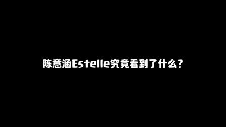 部落冲突:陈意涵Estelle究竟看到了什么?