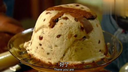 《贪嘴意大利》冰淇淋巧克力蛋糕,做法简单,然而没有烤箱跟干酪