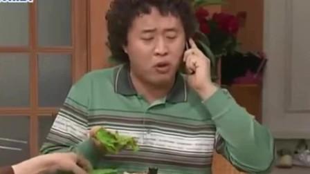 搞笑一家人:吃货母子文姬俊河吃烤肉,两人一