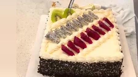风味人间:水果蛋糕的做法,这么简单!真是太好学了!
