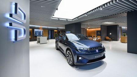 车事儿 2019 首款车型年底量产 拜腾全球首家体验店落户上海