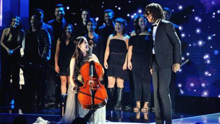 为国争光!欧阳娜娜17岁登上NASA舞台!大提琴演奏惊艳全场