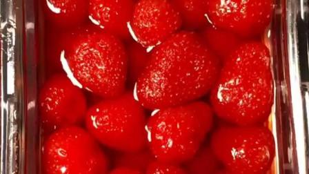 5#草莓果冻做法 #家常菜美食