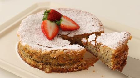 香浓甜美的白巧克力蛋糕,有茶味的美味甜点